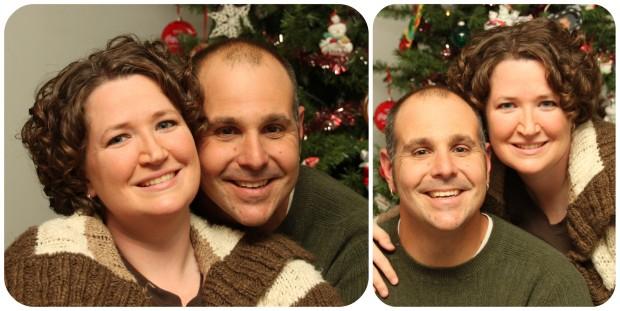 Me and Hubby Christmas 2010