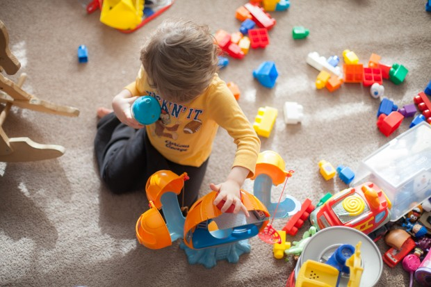 Play time with Caleb
